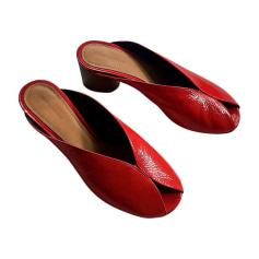 Heeled Sandals ISABEL MARANT Red, burgundy