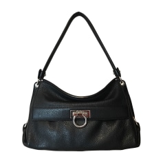 Leather Handbag SALVATORE FERRAGAMO Black