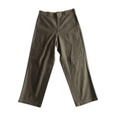 Wide Leg Pants COMME DES GARCONS Brown