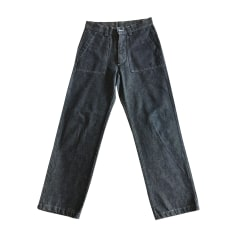 Pantalone largo KENZO Blu, blu navy, turchese