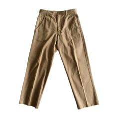 Pantalone largo COMME DES GARCONS Beige, cammello