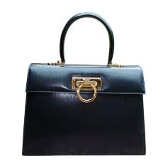 Leather Handbag SALVATORE FERRAGAMO Blue, navy, turquoise