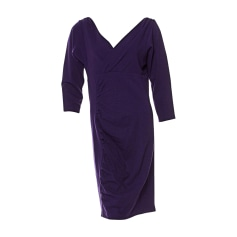 Midi Dress DIANE VON FURSTENBERG Purple, mauve, lavender