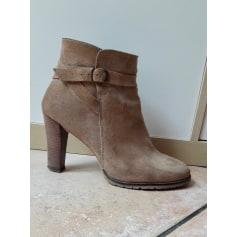 Bottines & low boots à talons JONAK Beige, camel