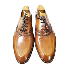 Lace Up Shoes BERLUTI Beige, camel