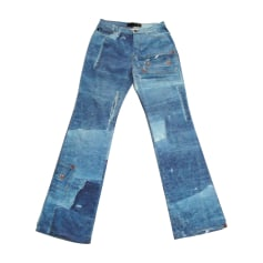 Boot-cut Jeans, Flares JUST CAVALLI Blue, navy, turquoise