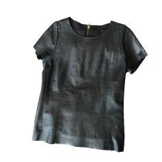 Tops, T-Shirt MAJE Schwarz