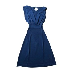 Midi Dress CHANEL Blue, navy, turquoise