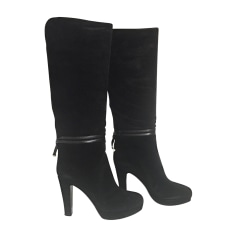 High Heel Boots SERGIO ROSSI Black