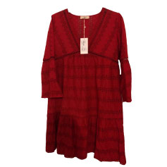 Mini Dress BA&SH Red, burgundy
