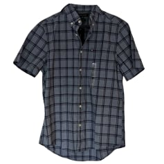 Short-sleeved Shirt TOMMY HILFIGER Gray, charcoal