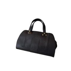 Leather Handbag GEORGES RECH Black