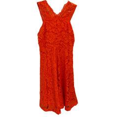 Mini Dress SANDRO Orange