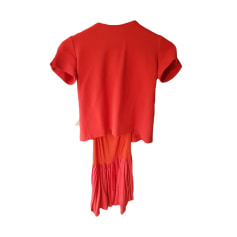 Midi Dress MAJE Red, burgundy