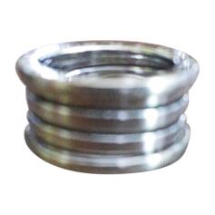 Ring BULGARI Silberfarben, stahlfarben