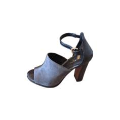 Sandales à talons COACH Grey