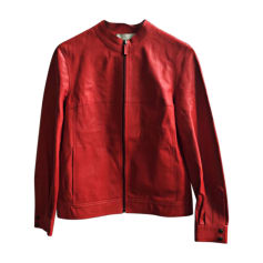 Leather Jacket VANESSA BRUNO Red, burgundy