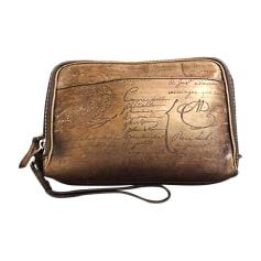 Schulter-Handtasche BERLUTI Braun