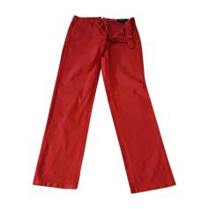 Pantalone dritto RALPH LAUREN Rosa, fucsia, rosa antico