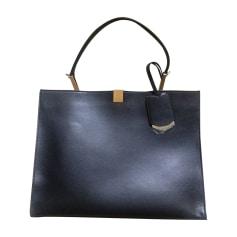 Leather Handbag BALENCIAGA Le Dix  Black