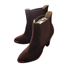 High Heel Ankle Boots IRO Brown