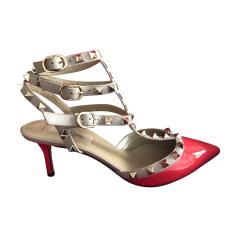 Sandales Pour Les Femmes En Vente, Bordeaux, Cuir Verni, 2017, 36 39,5 Valentino
