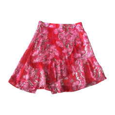 Mini Skirt CARVEN Pink, fuchsia, light pink