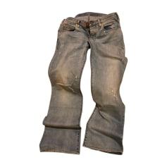 Jeans largo EMPORIO ARMANI Blu, blu navy, turchese