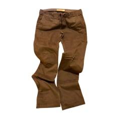 Pantalone dritto BURBERRY Grigio, antracite