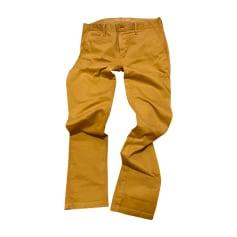 Pantalone dritto BURBERRY Beige, cammello
