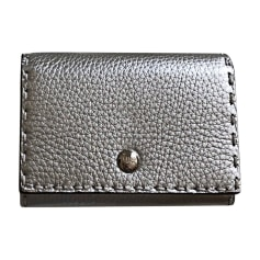 Card Case FENDI Silver