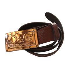 Cintura bassa DOLCE & GABBANA Marrone
