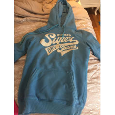 Sweat SUPERDRY Bleu, bleu marine, bleu turquoise