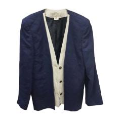 Blazer, Giacca tailleurr GUCCI Blu, blu navy, turchese
