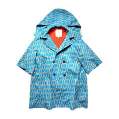 Waterproof, Trench KENZO Blue, navy, turquoise
