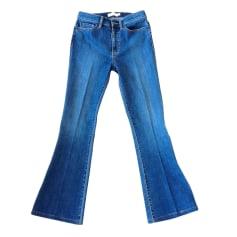 Jeans svasato, boot-cut TORY BURCH Blu, blu navy, turchese