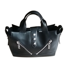Leather Handbag KENZO Black