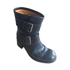 High Heel Boots FREE LANCE Blue, navy, turquoise