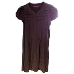 Mini Dress SANDRO Khaki