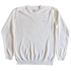 Sweater LACOSTE White, off-white, ecru