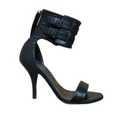 Heeled Sandals MAJE Black