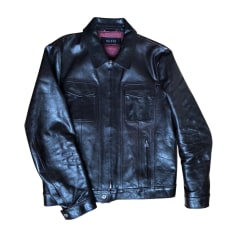 Leather Jacket GUCCI Brown