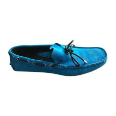 Mocassins JUST CAVALLI Bleu, bleu marine, bleu turquoise