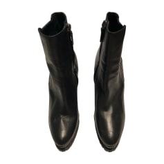 Bottines & low boots à compensés BARBARA BUI Noir