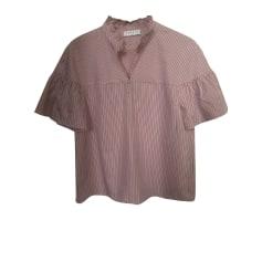 Blouse SANDRO Pink, fuchsia, light pink