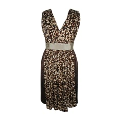 Midi Dress ALBERTA FERRETTI Animal prints