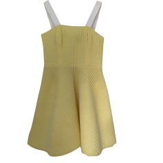 Mini Dress TARA JARMON Yellow