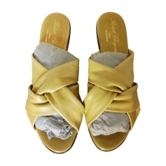 Wedge Sandals ROBERT CLERGERIE Yellow