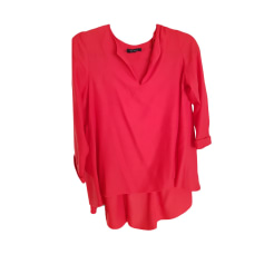 Blouse TARA JARMON Red, burgundy