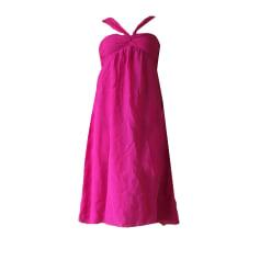Robe mi-longue 1.2.3. Rose, fuschia, vieux rose